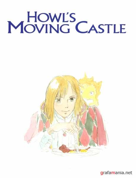 Hayao Miyazaki - The art of Howl's moving castle (Artbook)