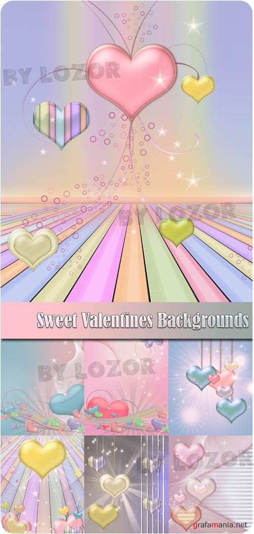 Sweet Valentines Backgrounds