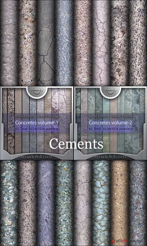 Sub Dimension Studio - World Matters Concretes (Cements) Vol 1-2