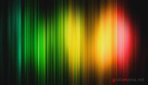 iStockvideo - Rainbow blur background v2 (Footage)