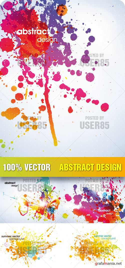 Stock Vector - Abstract Design