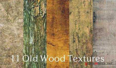 11 High Quality Old Wood Textures