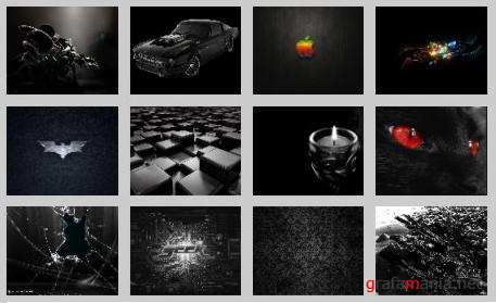 35 Amazing Black Wallpapers Pack