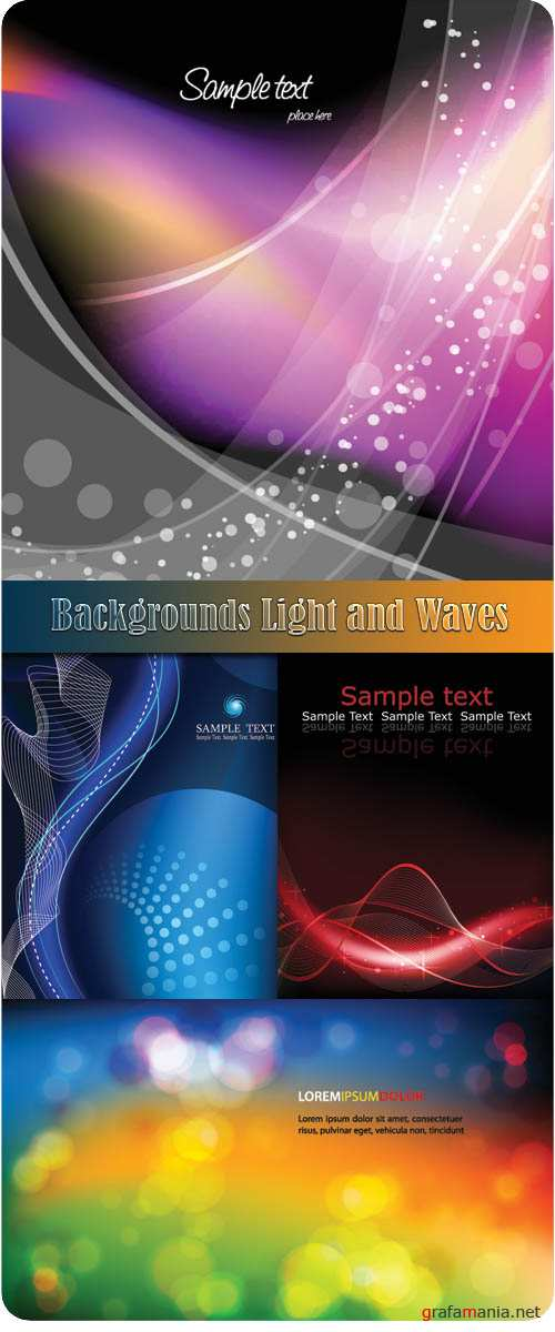 Backgrounds Light and Waves