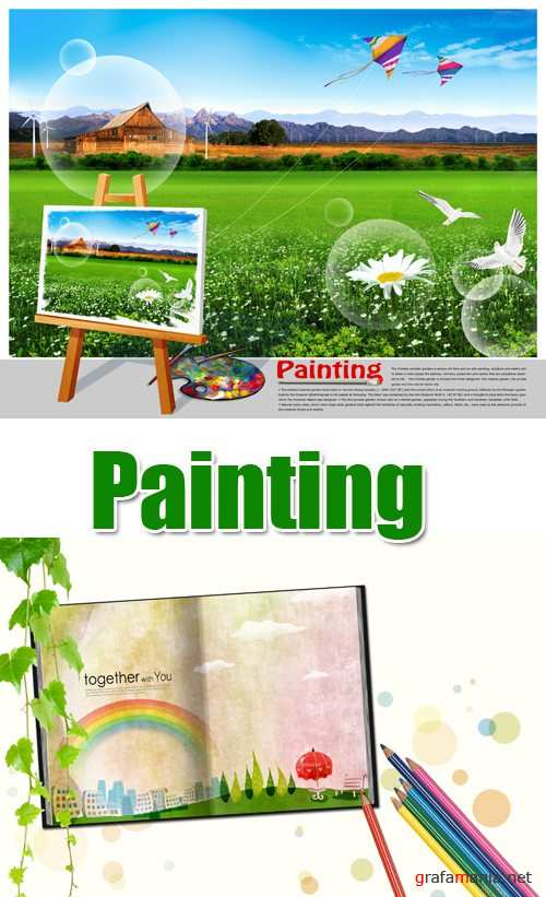 PSD Template - Painting