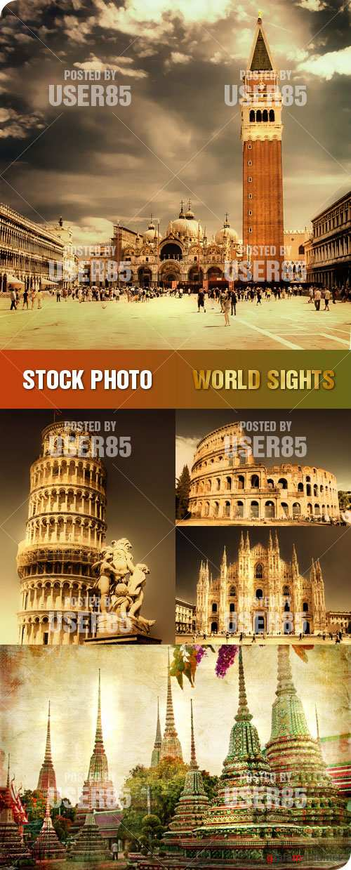 Stock Photo - World Sights