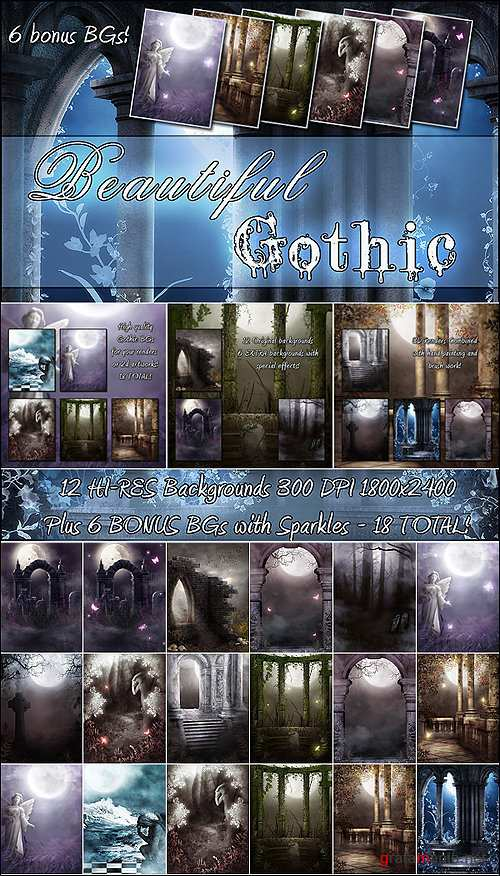 Beautiful Gothic + 6 BONUS