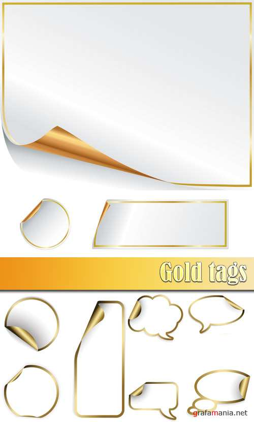 Gold tags