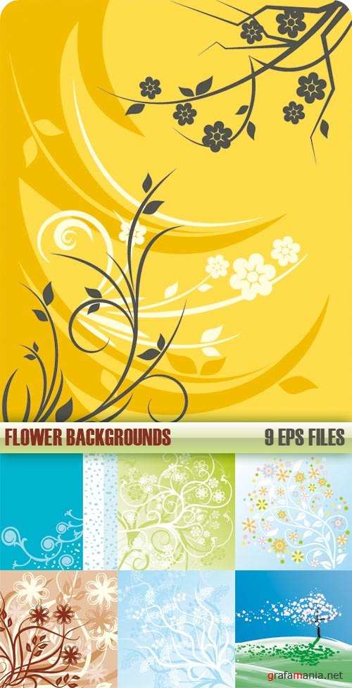 Vector stock - Flower Background