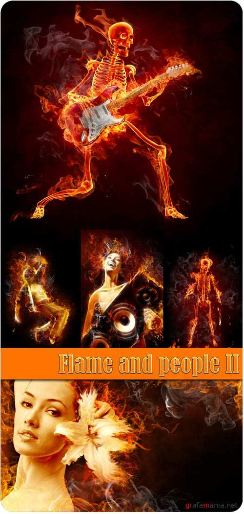 Flame and people 2