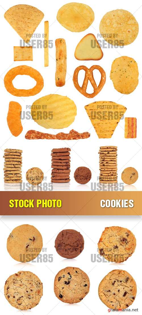 Stock Photo - Cookies