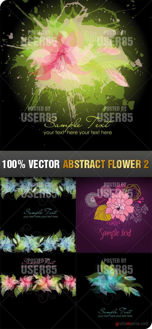 Stock Vector - Abstract Flower 2