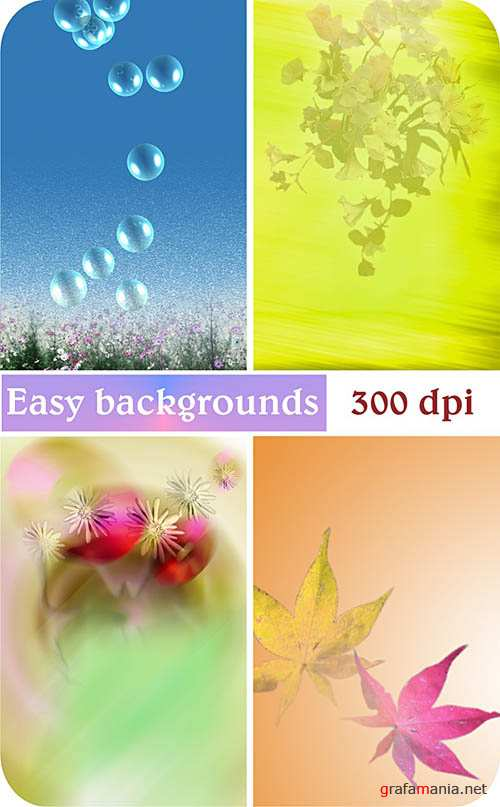 Easy backgrounds