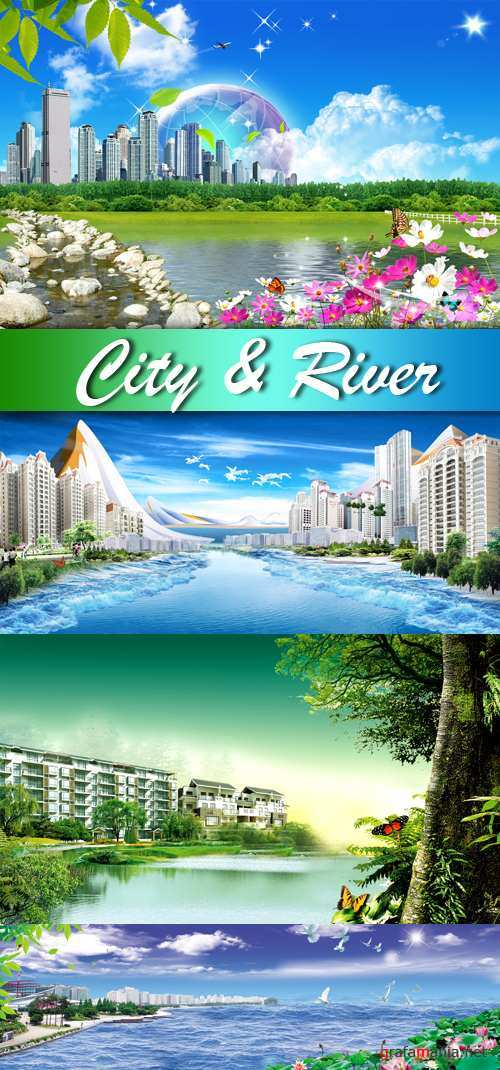 PSD Template - City & River