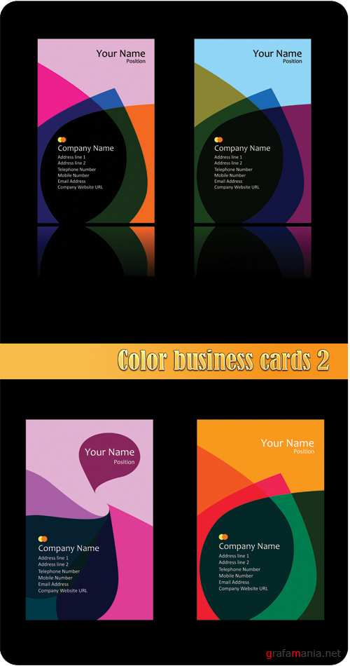 Color business cards 2