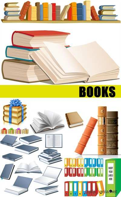 Vector stock - Books Elements