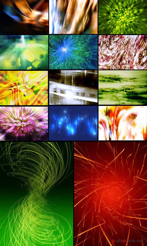200 HQ Abstract Backgrounds
