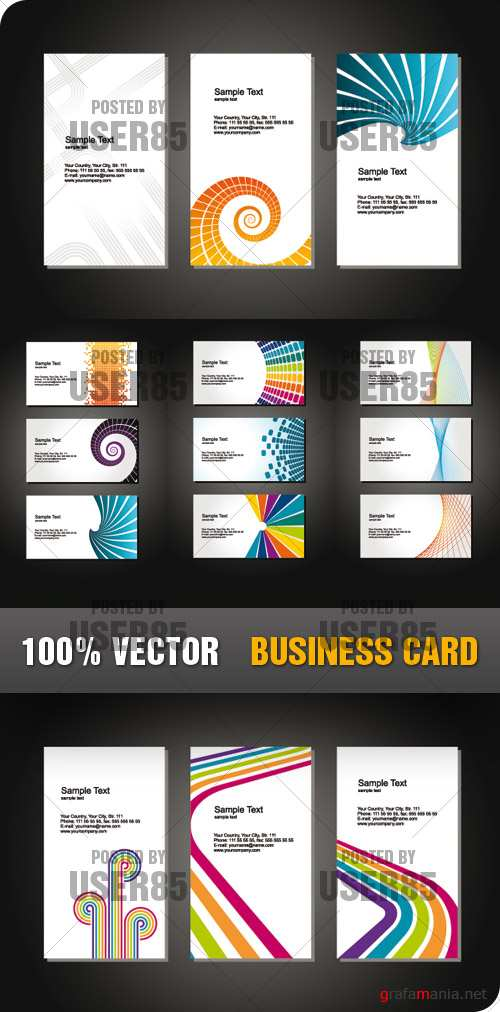 Stock Vector - Business Card
