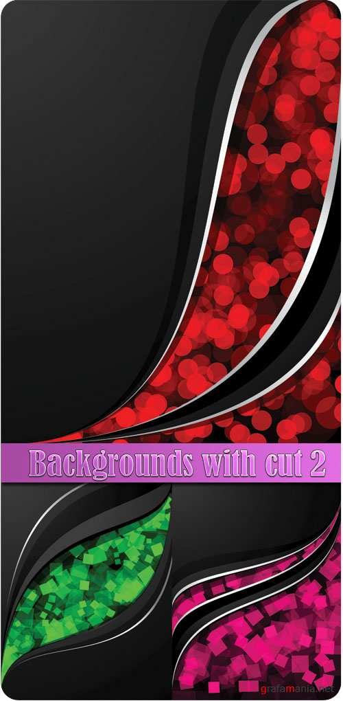 Backgrounds with cut 2