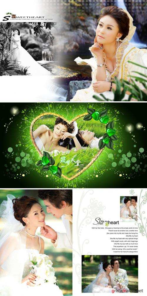 PSD Templates - Wedding