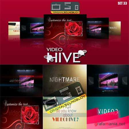 After effect project Videohive set 33