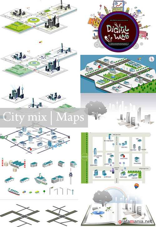 City mix | Maps