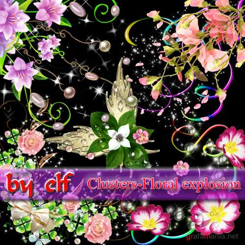 ���������� - ��������� ����� / Clusters � Floral explosion