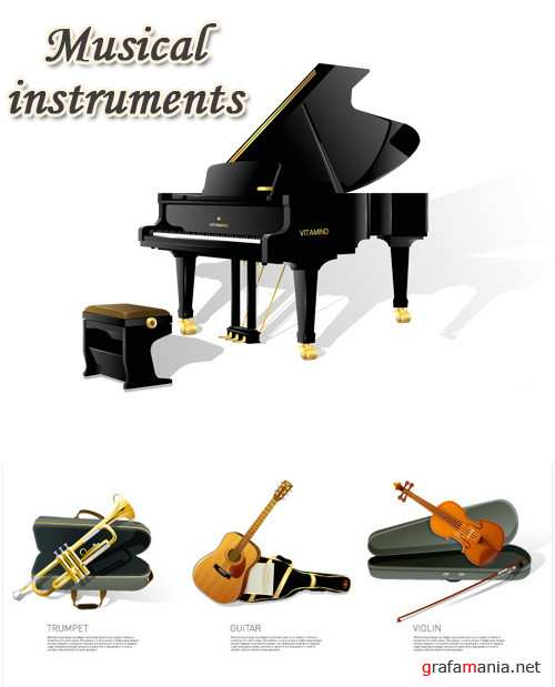 Stock vector - Musical Insturments