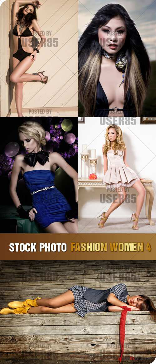 Stock Photo - Fashion Women 4