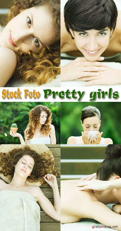 Stock Foto: Pretty Girls