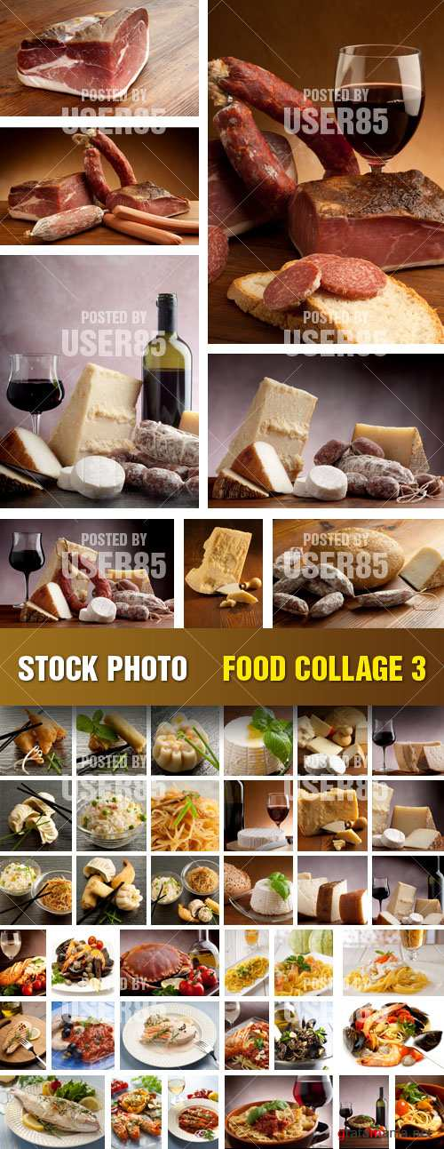 Stock Photo - Food Collage 3