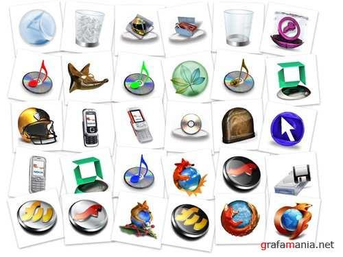 3D new icons