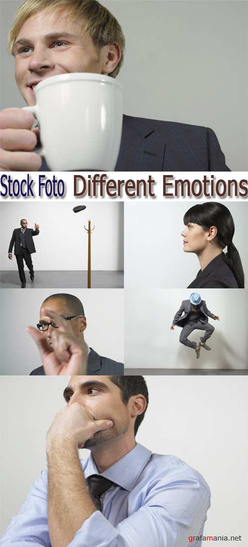 Stock Foto: Different Emotions