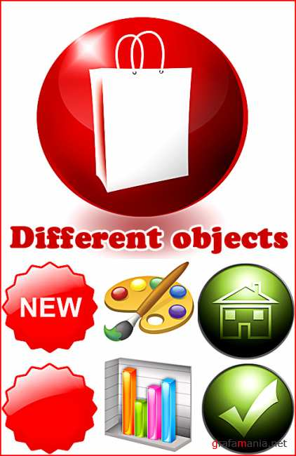 Different objects