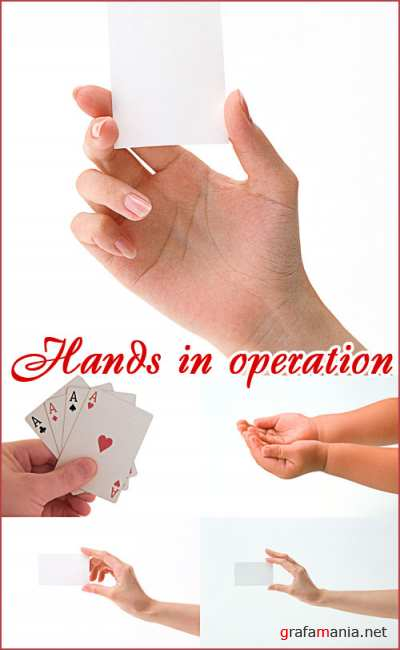 Hands in operation