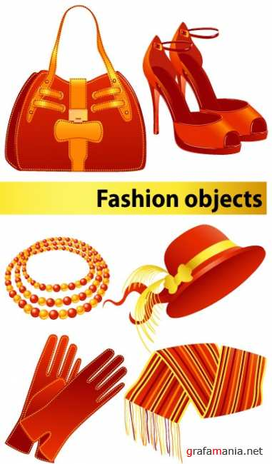 Vector stock - Fashion elements