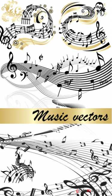 Vector stock - Music Background
