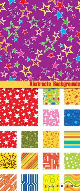 Vector stock - Stars Abstract Background