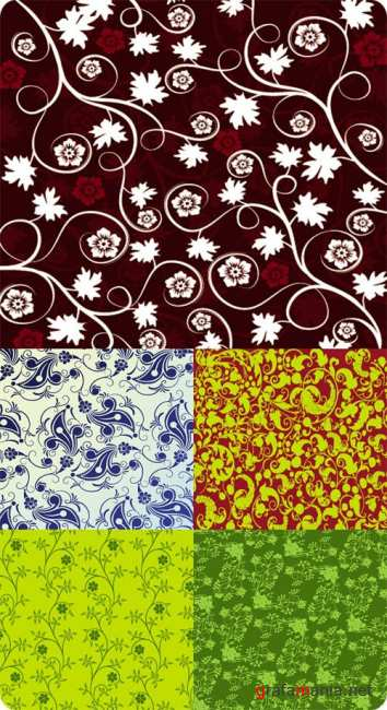 Vector stock - Floral background