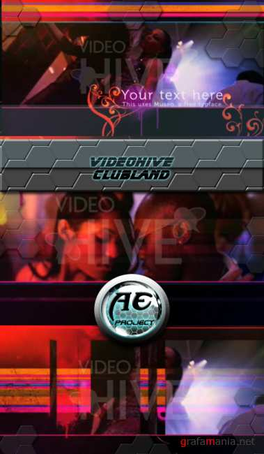 VideoHive After Effect  project - Clubland