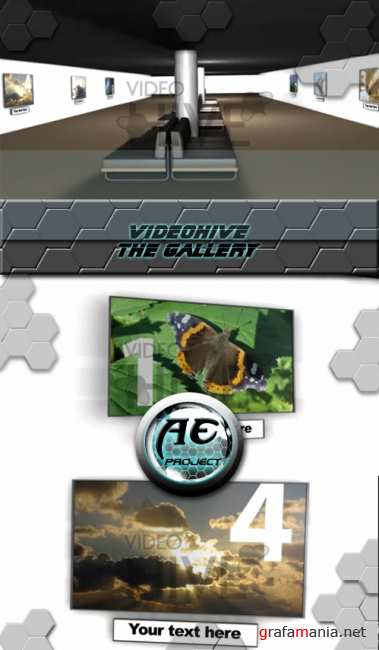 VideoHive After Effect project - The Gallery