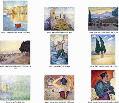 Beautiful Artworks by Paul Signac