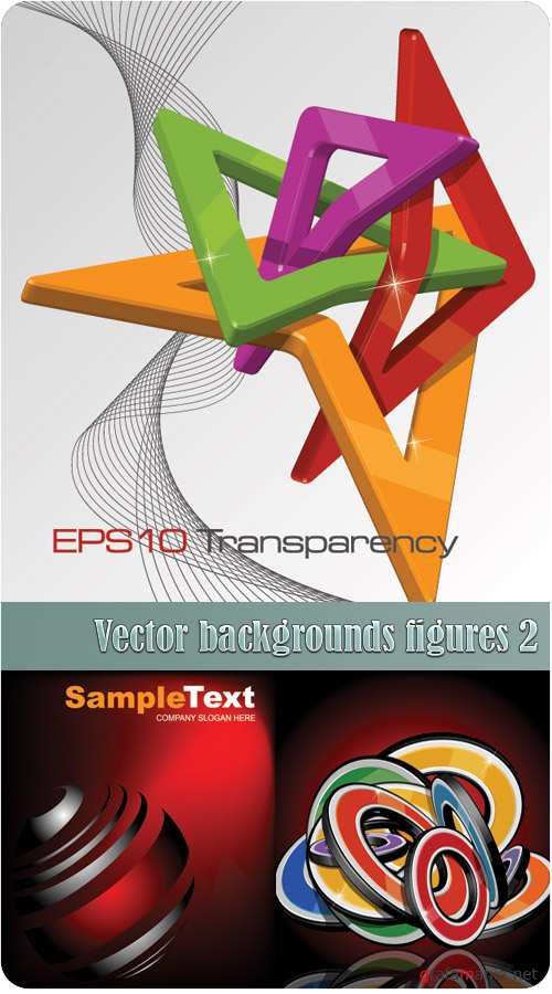 Vector backgrounds figures 2