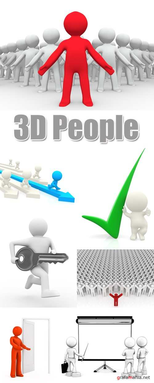 Stock Photo - 3D People