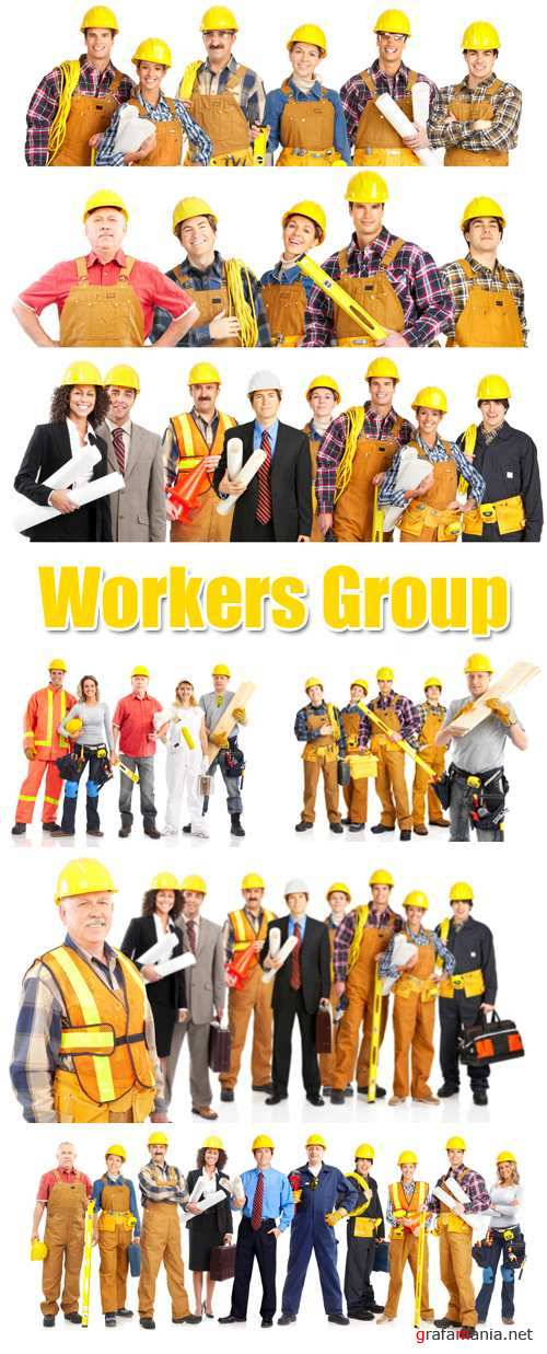 Stock Photo - Workers Groups