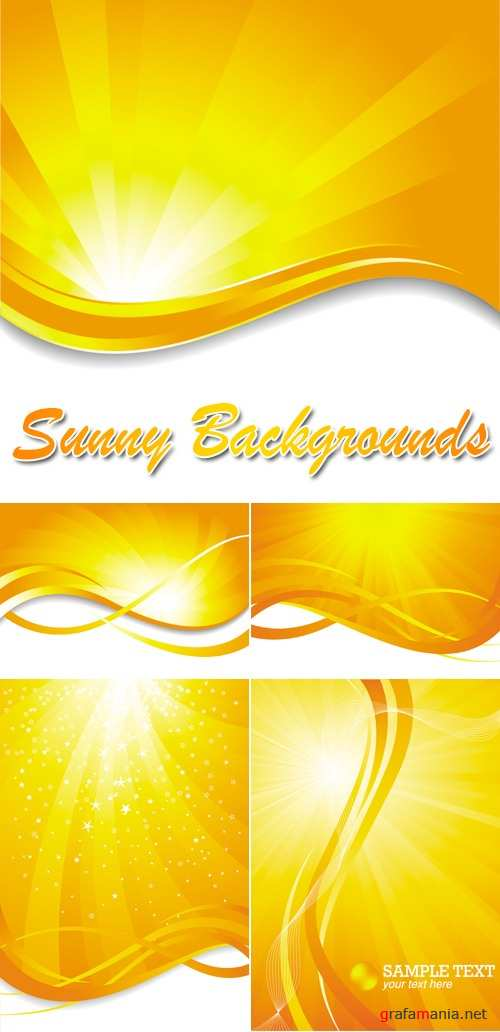 Sunny Backgrounds Vector