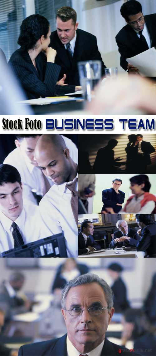 Stock Foto: Business Team