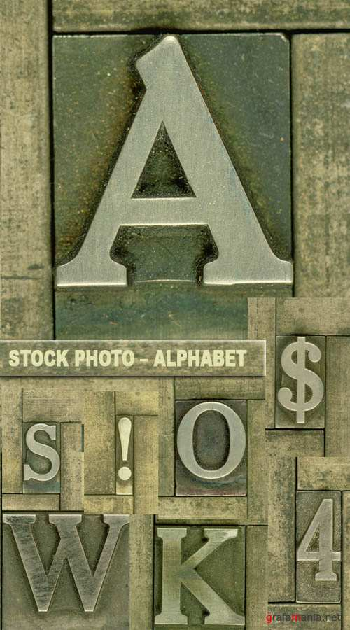 Stock photo – Alphabet