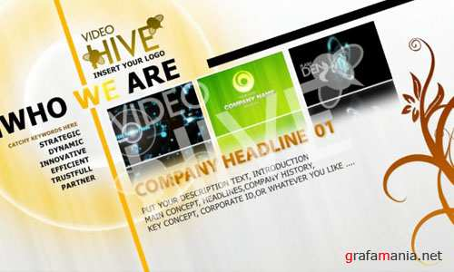 After Effects Project - VideoHive Professional Design Template V03 38063