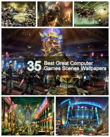 35 Best Great Computer Games Scenes Wallpapers